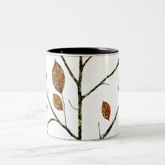 Fall / Multimedia Print Two-Tone Coffee Mug