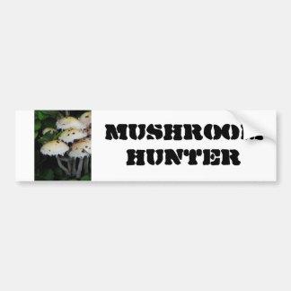 Fall Mushrooms - Photograph Car Bumper Sticker