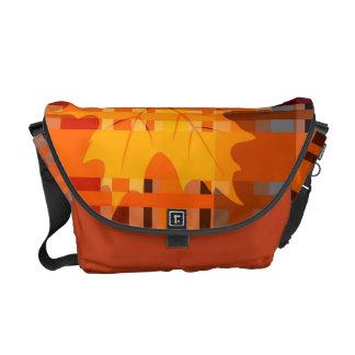 Fall n' Love With Plaid Messenger Bag
