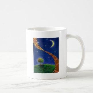 Fall night movie art fun painting for film lovers coffee mugs