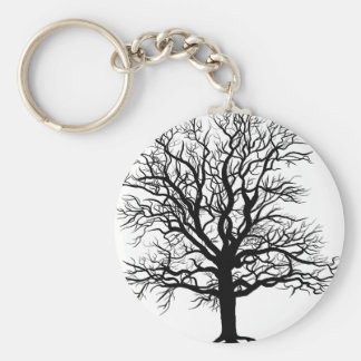 Fall Oak Keychain