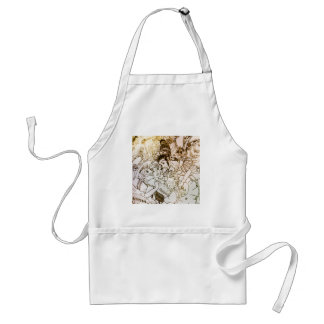 Fall of Alice Adult Apron