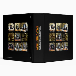 Fall of Cybertron 3 Ring Binder