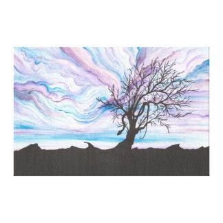 Fall of Eden Canvas Print
