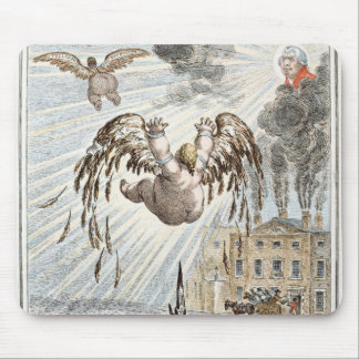 Fall of Icarus 1807 Mousepad