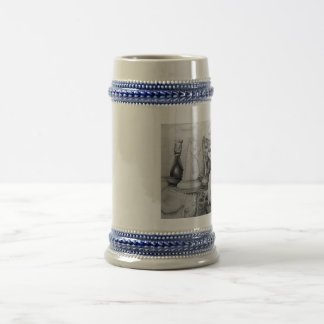 Fall of Knight Beer Stein