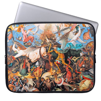 Fall of the Rebel Angels by Pieter Bruegel - 1562 Laptop Computer Sleeves