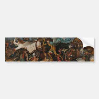 Fall of the Rebel Angels by Pieter Bruegel Bumper Sticker