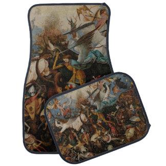 Fall of the Rebel Angels by Pieter Bruegel Car Mat