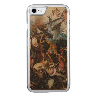 Fall of the Rebel Angels by Pieter Bruegel Carved iPhone 7 Case