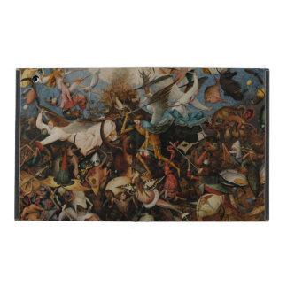 Fall of the Rebel Angels by Pieter Bruegel iPad Case