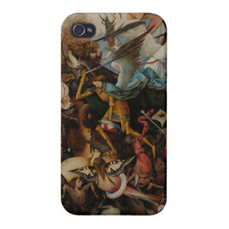 Fall of the Rebel Angels by Pieter Bruegel iPhone 4 Covers