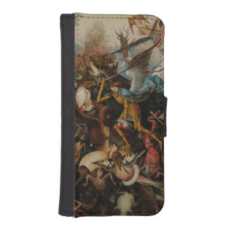 Fall of the Rebel Angels by Pieter Bruegel iPhone 5 Wallets