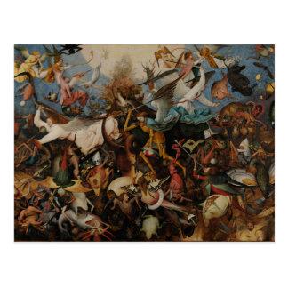 Fall of the Rebel Angels by Pieter Bruegel Postcard