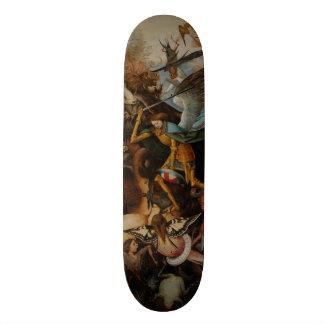 Fall of the Rebel Angels by Pieter Bruegel Skateboard