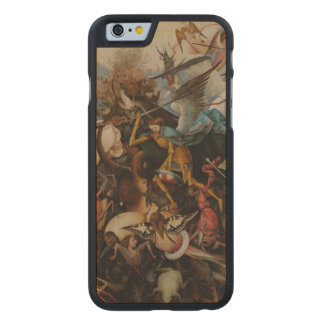 Fall of the Rebel Angels by Pieter Bruegel Carved® Maple iPhone 6 Slim Case