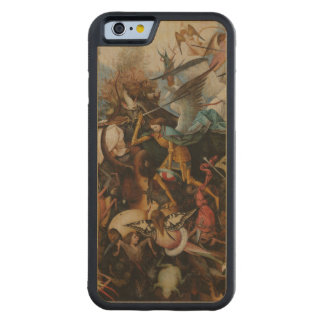 Fall of the Rebel Angels by Pieter Bruegel Carved® Maple iPhone 6 Bumper Case