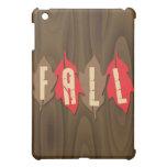 Fall on Leaves iPad Mini Covers