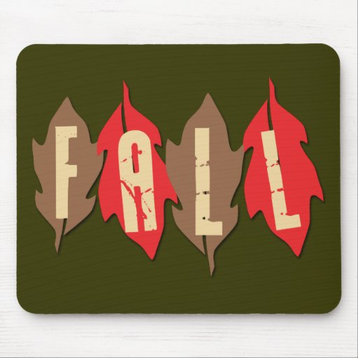 Fall on Leaves Mouse Pad