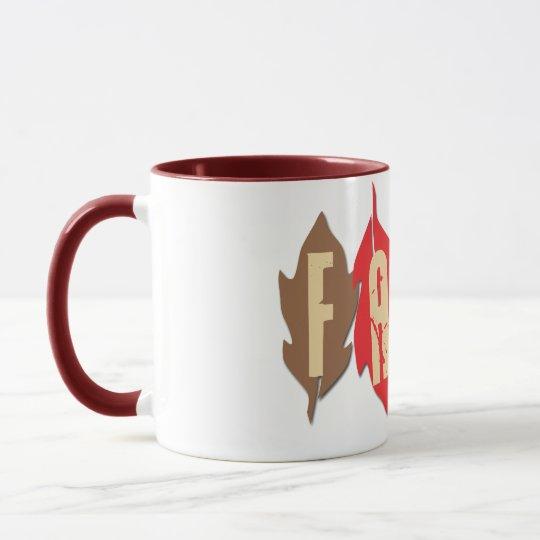 Fall on Leaves Mug
