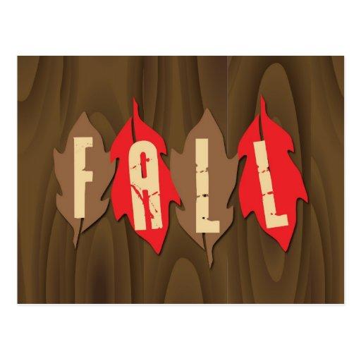 Fall on Leaves Postcards