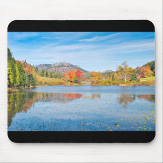 Fall on Long Pond Acadia National Park Maine Mouse Pad