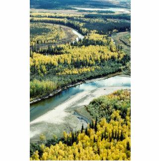 Fall on the Yukon Flats National Wildlife Refuge Photo Sculptures