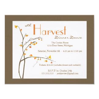Fall or Autumn Event Invitation