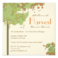 Fall or Autumn Special Event Invitation