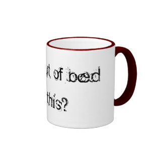 Fall out of bed coffee mugs
