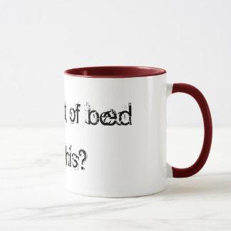 Fall out of bed mug