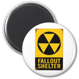 FALL OUT SHELTER REFRIGERATOR MAGNET