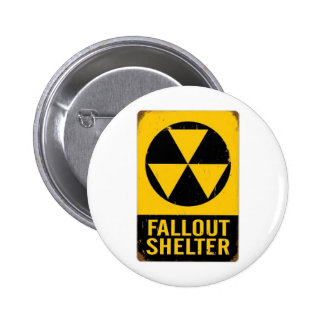 FALL OUT SHELTER PINBACK BUTTON