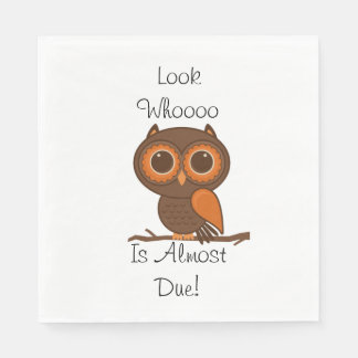 Fall Owl Napkins