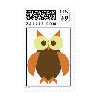 Fall Owl Stamp
