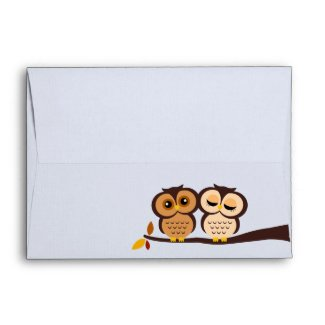 Fall Owls Envelopes envelope