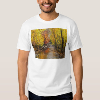 Fall Painting T Shirts