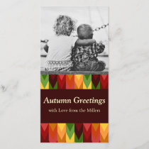Fall Pattern NO.1: Customized Photocard