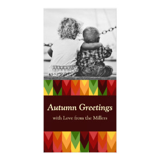Fall Pattern NO.1: Customized Photocard Card