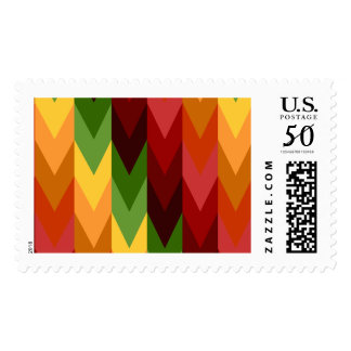 Fall Pattern NO.1: Postage Stamp