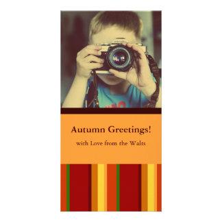 Fall Pattern NO.2: Customized Photocard Card