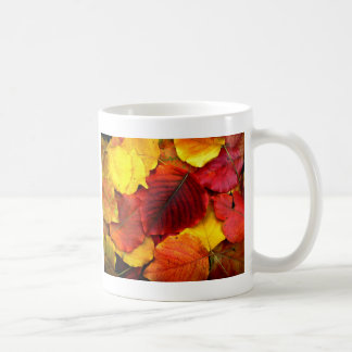 Fall Pear Leaves Coffee Mug