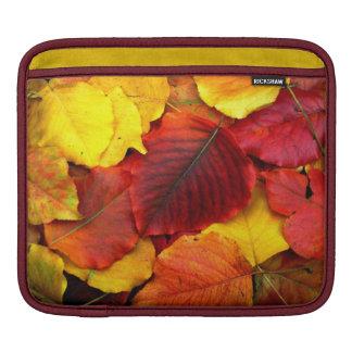 Fall Pear Leaves iPad Sleeve