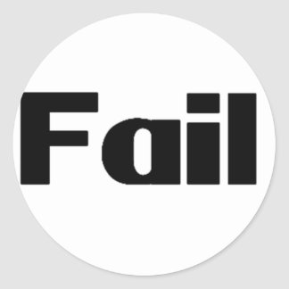 Fall Etiqueta Redonda