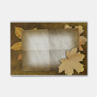 Fall Post-it Notes