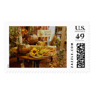 """Fall Postage """"Season of Thanks"""" Cl Decorated Table"""