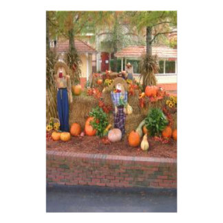 Fall Products Customized Stationery