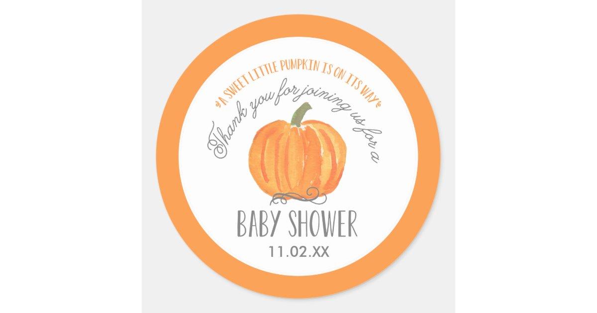 Return Address Label Pumpkin Label Pumpkin Baby Pumpkin Baby Shower Fall Baby Shower Boy Baby Shower Blue Printed Return Address Labels