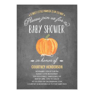 Fall Pumpkin | Baby Shower Invitation