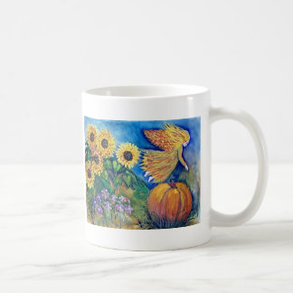 Fall Pumpkin Fairy Coffee Mug